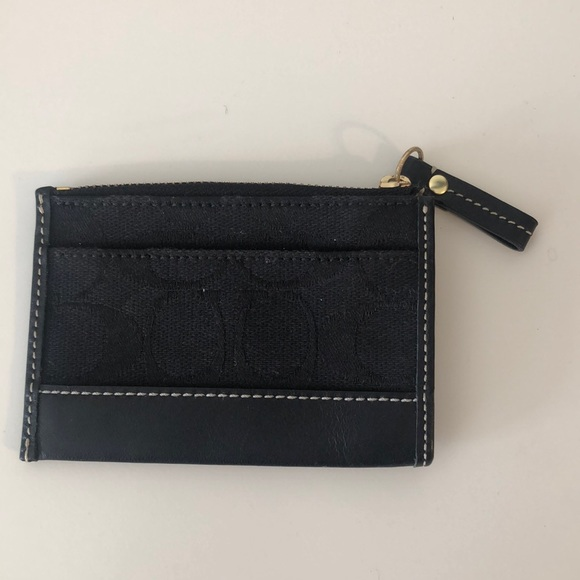 Coach money holder and key chain